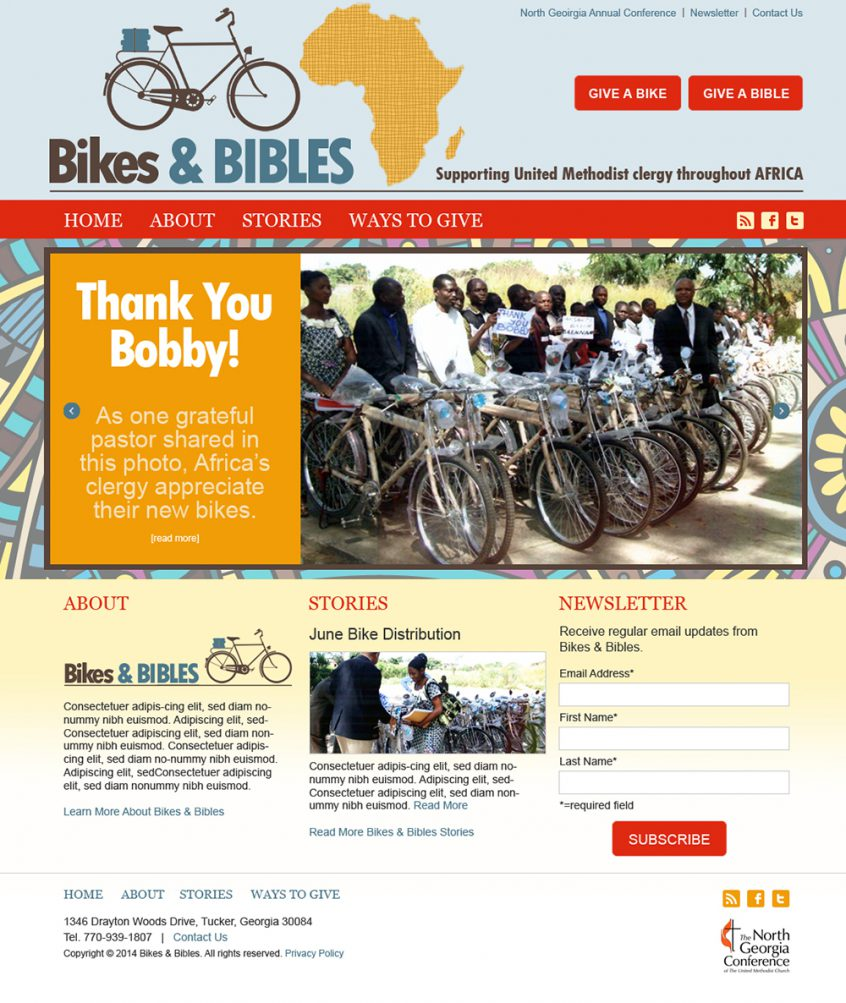 Bikes and Bibles